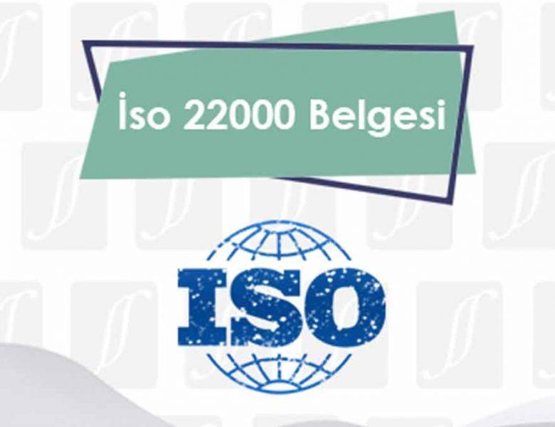 ISO 22000 Gıda Kavramları